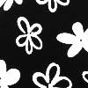 Черный / Черный в цветочек