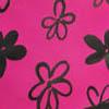 Черный / Розовый в цветочек